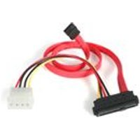 StarTech 18 inch SAS 29-Pin to SATA with LP4 Power Cable