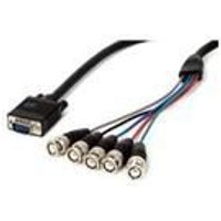 StarTech SVGA Monitor Cable - HDDB15M to 5 BNC