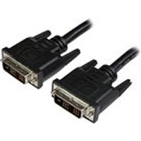 StarTech Single Link LCD Flat Panel - Monitor cable - DVI-D (M) - DVI-D (M) - 1.8 m