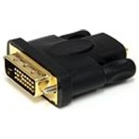 StarTech HDMI to DVI-D Video Cable Adapter - dual link - 19 pin HDMI (F) - DVI-D (M) - black