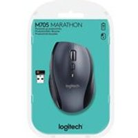 Logitech M705 Wireless Mouse (Silver)