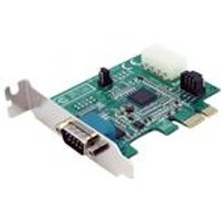 StarTech 1 Port Low Profile Native PCI Express Serial Card with 16950