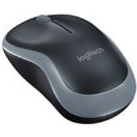 Logitech M185 Wireless USB Mouse (Swift Grey)