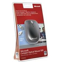 Microsoft Compact Wired Optical Mouse for Business (Black)