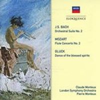 J.S. Bach: Orchestral Suite No. 2; Mozart: Flute Concerto No. 2; Gluch: Dance of the Blessed Spirits (Music CD)