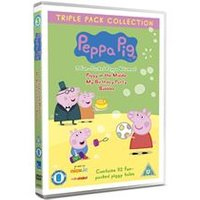 Peppa Pig - Piggy In The Middle / My Birthday Party / Bubbles