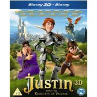 Justin and the Knights of Valour (Blu-ray 3D + Blu-ray)