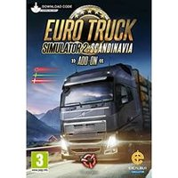 Euro Truck Simulator 2 - Scandinavia Add-on (Digital Download Card)