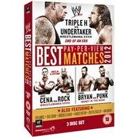 WWE Best PPV Matches 2012