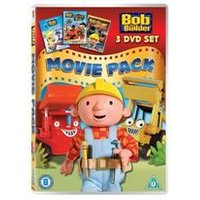 Bob the Builder - Movie Pack (Snowed Under/Built to be Wild/race to the Finish)