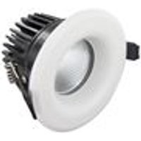 Integral Lux Fire 70mm cut-out IP65 Fire Rated Downlight 6W (38W) 3000K 410lm 36 deg beam angle Dimmable