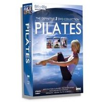 Pilates The Definitive Triple DVD Box Set - Containing An Introduction to Pilates the Power Within, Inch Loss Pilates Workout & Aerolates - Aerobic Pilates Workout. Fit for Life Series