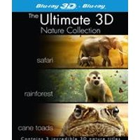 Nature Boxset (Safari/Rainforest/Cane Toads: The Incredible Journey) (3D Blu-Ray)