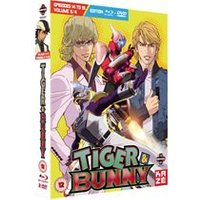 Tiger & Bunny Part 3 (Episodes 14-19) (Blu-Ray & DVD)