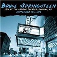 Bruce Springsteen - Live At The Capitol Theater Passiac NJ (September 19th 1978) (Music CD)
