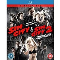 Sin City & Sin City 2: A Dame To Kill For (Blu-ray)