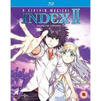 A Certain Magical Index Complete Season 2 Collection (Episodes 1-24) Blu-ray/DVD Combo (Blu-ray)