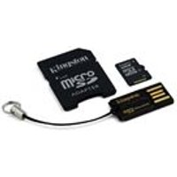 Kingston Mobility/Multi Kit - 32GB SDC4/32GB, MRG2, with microSD to SD adapter