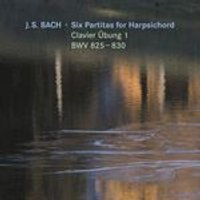 Bach: Six Partitas for Harpsichord Clavier bung 1, BWV 825-830 (Music CD)