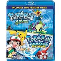 Pokmon Forever And Pokmon Heroes (Blu-Ray)