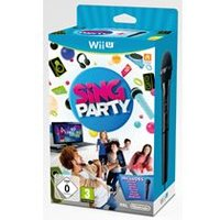 Sing Party with Wii U Wired Microphone (Wii U)