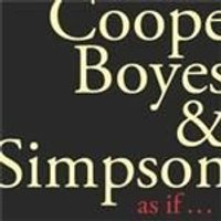 Coope Boyes & Simpson - As If (Music CD)