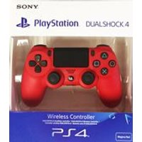 New Sony PlayStation DualShock 4 - Magma Red (PS4)