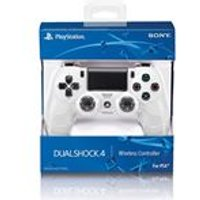 New Sony PlayStation DualShock - Glacier White (PS4)