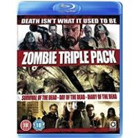 Zombie Collection - Survival Of The Dead/Day of The Dead (Remake)/Diary of The Dead (Blu-Ray)