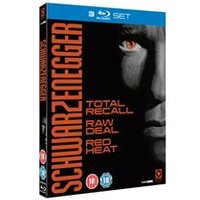Arnold Schwarzenegger Collection -Total Recall/Raw Deal/Red Heat (Blu-Ray)
