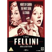 The Fellini Collection:NIGHTS OF CABIRIA/LA STRADA /THE WHITE SHEIK.