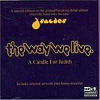 Tractor - The Way We Live/A Candle For Judith 2003 (Music CD)