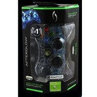 PDP Afterglow Wired Controller with SmartTrack Technology - Blue (Xbox 360)