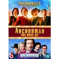 Anchorman 1 & 2 Box Set