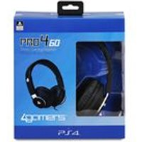 PRO4-60 Stereo Gaming Headset (Black) (Compatible with PlayStation VR)