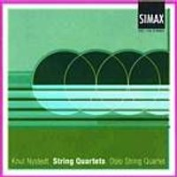 Knut Nystedt - String Quartets 2, 3, 4 And 5 (Oslo String Quartet) (Music CD)