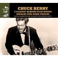 Chuck Berry - Five Classic Albums Plus (Music CD)