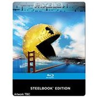 Pixels (Limited Edition Steelbook) [Blu-ray]