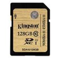 Kingston 128GB SDXC Class 10 UHS-I Ultimate Flash Card