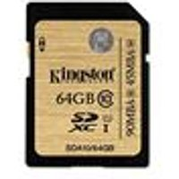 Kingston Technology 64GB UHS-I Ultimate Flash Card (SDA10/64GB)