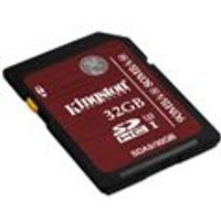 Kingston 32GB SDHC UHS-1 U3 Flash Card