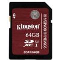 Kingston 64GB SDHC UHS-1 U3 Flash Card