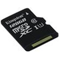 Kingston 128 GB SDHC/SDXC Class 10 UHS-I Micro SD Card (Card only)