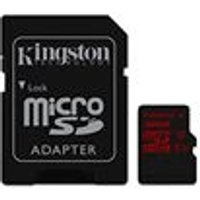 Kingston 32 GB Micro SDHC UHS-I Speed Class 3 Memory Card with SD Adapter