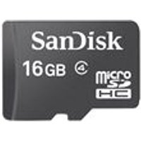 SanDisk Micro SDHC 16Gb (Card Only)