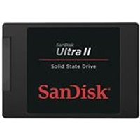 SanDisk Ultra II SSD 480 GB SATA III 2.5 inch Internal SSD up to 550 MB/s Read and up to 500 MB/s Write