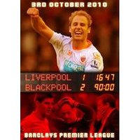 Liverpool 1 Blackpool 2 - Barclays Premier League 3rd October 2010