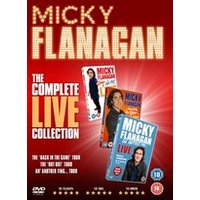Micky Flanagan The Complete Live Collection (DVD)