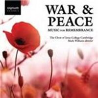 War & Peace: Music for Remembrance (Music CD)