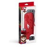 Carry Case Plus Screen Protector Accessory Set - Super Mario Odyssey (Nintendo Switch)